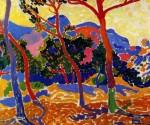 Живопись | Андре Дерен | Деревья, 1905