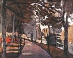 Живопись | Анри Матисс | Булонский лес, 1902