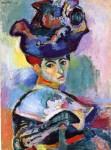 Живопись | Анри Матисс | Женщина в шляпе, 1905