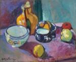 Живопись | Анри Матисс | Посуда и фрукты, 1901