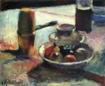 Живопись | Анри Матисс | Фрукты и кофейник, 1898