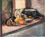 Живопись | Анри Матисс | Blue Pot and Lemon, 1897