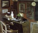 Живопись | Анри Матисс | Interior with a top hat, 1896
