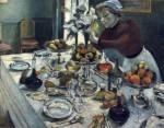 Живопись | Анри Матисс | The Dinner Table, 1896