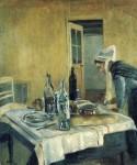 Живопись | Анри Матисс | The Maid, 1896