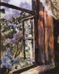 Живопись | Валентин Серов | Открытое окно. Сирень, 1886