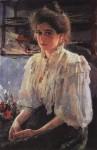 Живопись | Валентин Серов | М. Я. Львова, 1895