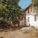 Живопись | Валентин Серов | Татарская деревня Крыму, 1893