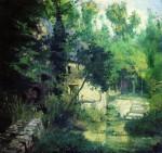 Живопись | Василий Поленов | Мельница на истоке речки Вёль, 1874