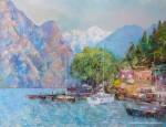 Живопись | Влад Кравчук | Италия. Озеро Гарда