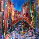 Живопись | Влад Кравчук | Ночная Венеция