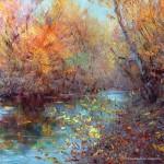 Живопись | Влад Кравчук | Осенняя река