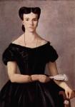 Живопись | Джованни Фаттори | Дама с веером, 1865