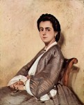 Живопись | Джованни Фаттори | Портрет кузины художника, 1861