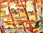 Живопись | Жорж Брак | Landscape at La Ciotat, 1907