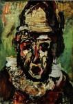 Живопись | Жорж Руо | Clown tragique, 1911