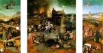 Живопись | Иероним Босх | Искушение Св. Антония. Триптих, 1516