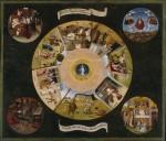 Живопись | Иероним Босх | Семь смертных грехов и Четыре последние вещи, 1485
