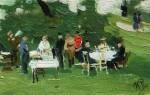 Живопись | Илья Репин | Пикник, 1890-е