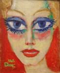 Живопись | Кес ван Донген | Woman with Blue Eyes, 1908