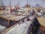 Живопись | Константин Коровин | Москворецкий мост, 1914