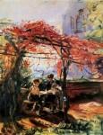 Живопись | Макс Слефогт | Дети художника в саду