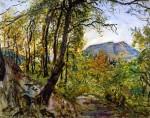 Живопись | Макс Слефогт | Пфальц, пейзаж, 1921
