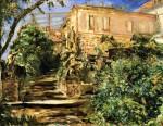 Живопись | Макс Слефогт | Сад в Нойкастле с библиотекой, 1930
