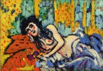 Живопись | Морис де Вламинк | The Girl from Rat Mort, 1905