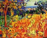 Живопись | Морис де Вламинк | The Orchard, 1905