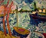 Живопись | Морис де Вламинк | The River Seine at Chatou, 1906