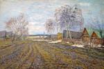 Живопись | Николай Мещерин | Весна в деревне