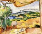 Живопись | Отон Фриез | Вид с террасы,1909