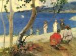Живопись | Поль Гоген | A seashore, 1887