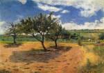 Живопись   Поль Гоген   Apple-Trees in Blossom, 1879