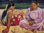 Живопись | Поль Гоген | Femmes de Tahiti, 1891