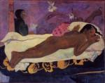Живопись | Поль Гоген | L'Esprit des morts veille, 1892