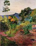 Живопись | Поль Гоген | Martinique Landscape, 1887