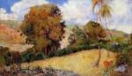 Живопись | Поль Гоген | Meadow in Martinique, 1887