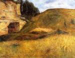 Живопись | Поль Гоген | Quarry hole in the cliff, 1882