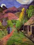 Живопись | Поль Гоген | Road in Tahiti, 1891