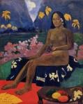 Живопись | Поль Гоген | Te aa no areois, 1892
