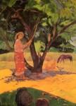 Живопись | Поль Гоген | The lemon picker, 1891