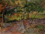 Живопись | Поль Гоген | Tropical Landscape, Martinique, 1887
