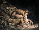 Живопись | Уильям Блейк | Исаак Ньютон, 1795