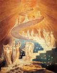 Живопись | Уильям Блейк | Лестница Иакова, 1799-1806