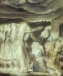 Живопись | Уильям Блейк | Притча о разумных и неразумных девах, 1822
