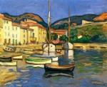 Живопись | Шарль Камуан | Port de Cassis avec deux Tartanes, 1905