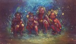 Живопись | Annelie Solis | Children of the Gaia Tribe