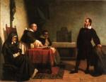 Живопись | Cristiano Banti | Galileo Galilei davanti all'Inquisizione, 1857